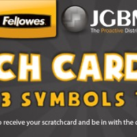 JGBM's Fellowes Scratch Card Game Terms and Conditions