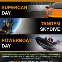 Win a fantastic Experience Day with JGBM and Avery