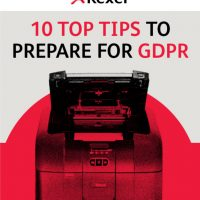10 Top Tips to prepare for GDPR from Rexel