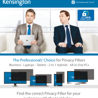 Kensington Privacy Screen Selector Tool