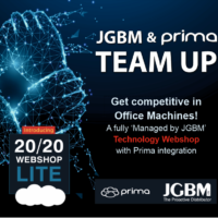 JGBM team up with Prima to offer integrated 20/20 Lite Technology Webshop